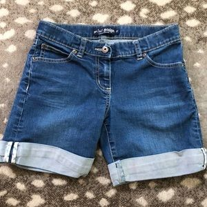 Mini Boden size 12 Jean Shorts